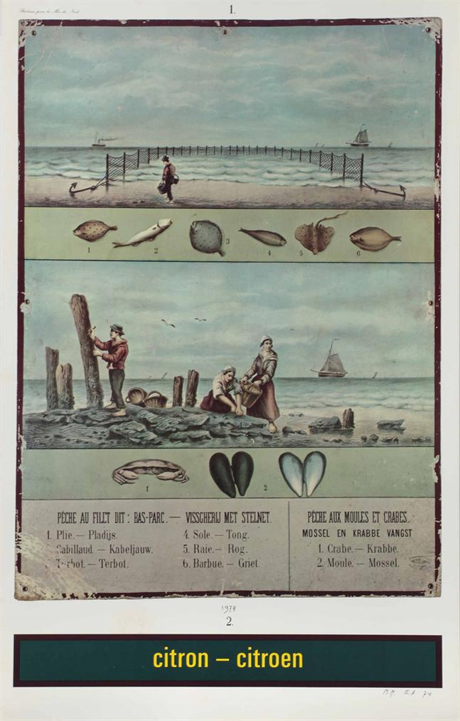 Marcel Broodthaers-Citron-Citroen (Reclame Pour La Mer Du Nord) (Citron-Citroen (Advertisement For The North Sea))-1974