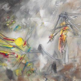 Roberto Matta-Untitled-1958