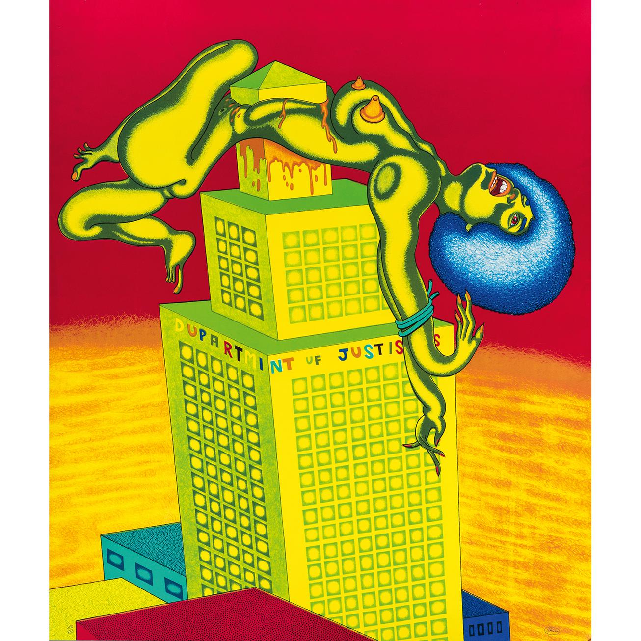 Peter Saul-Dupartmint Uf Justiss-