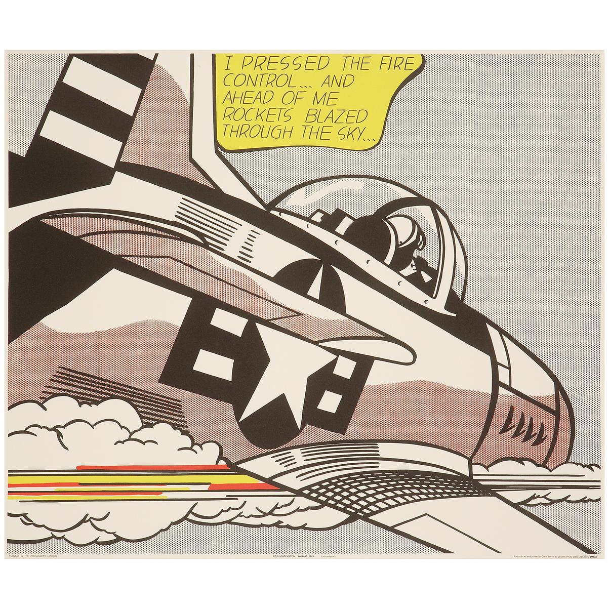 Roy Lichtenstein-Whaam-1963