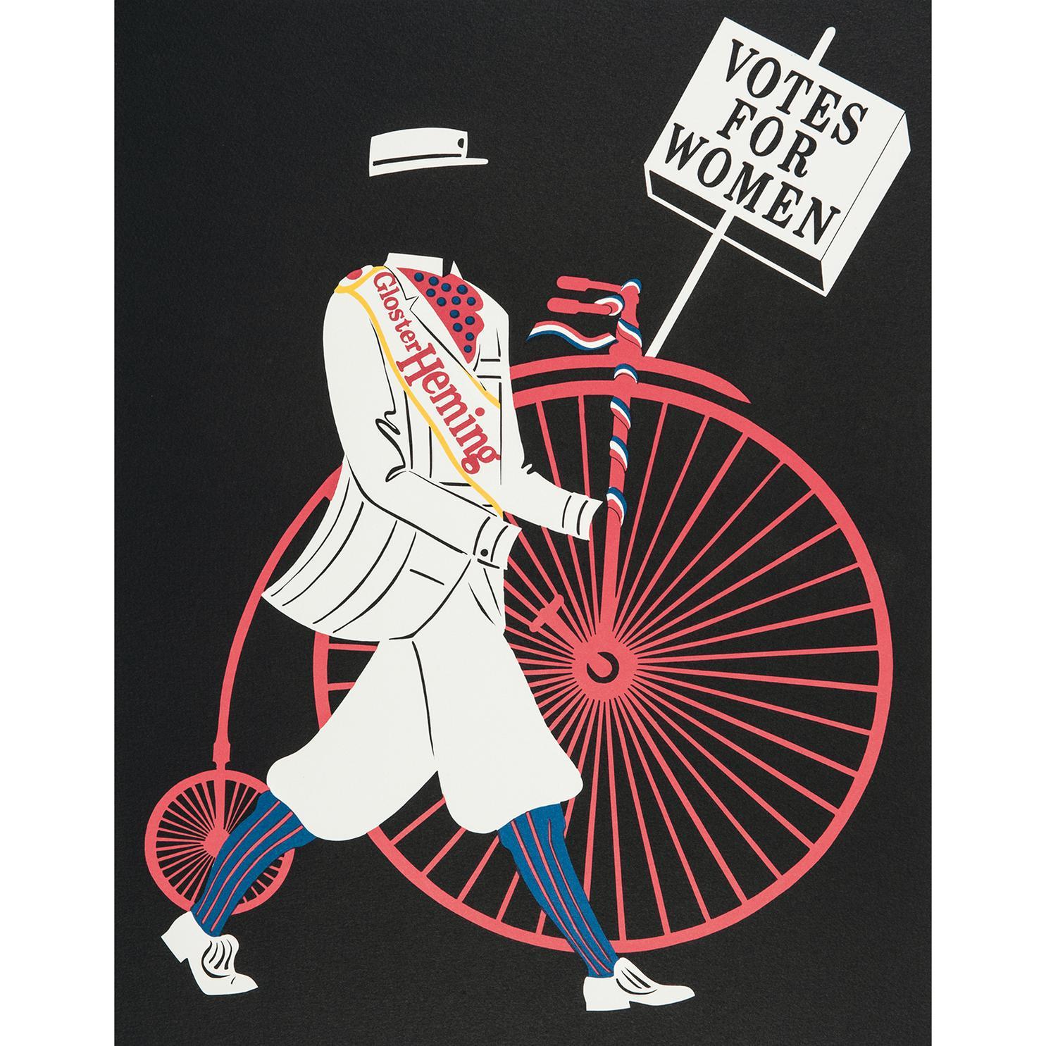 Robert Indiana-Vote For Women-1977