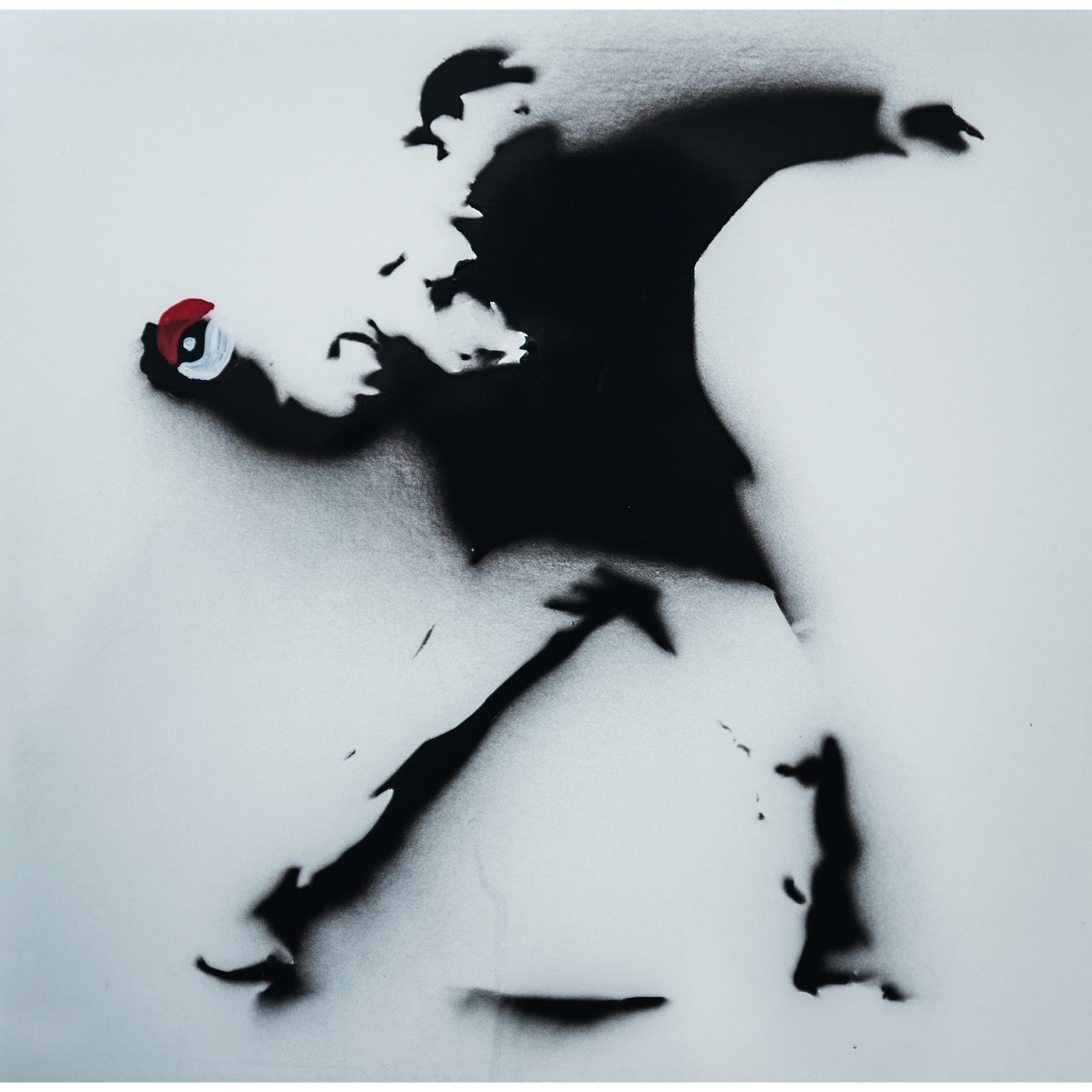 Banksy-Pokemon Red-2015
