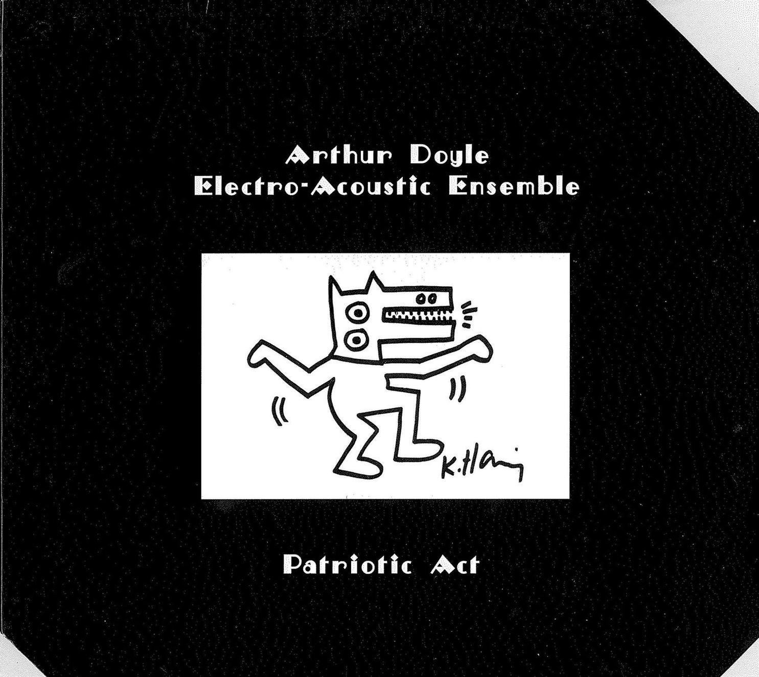 Keith Haring-Patriotic Act-2004