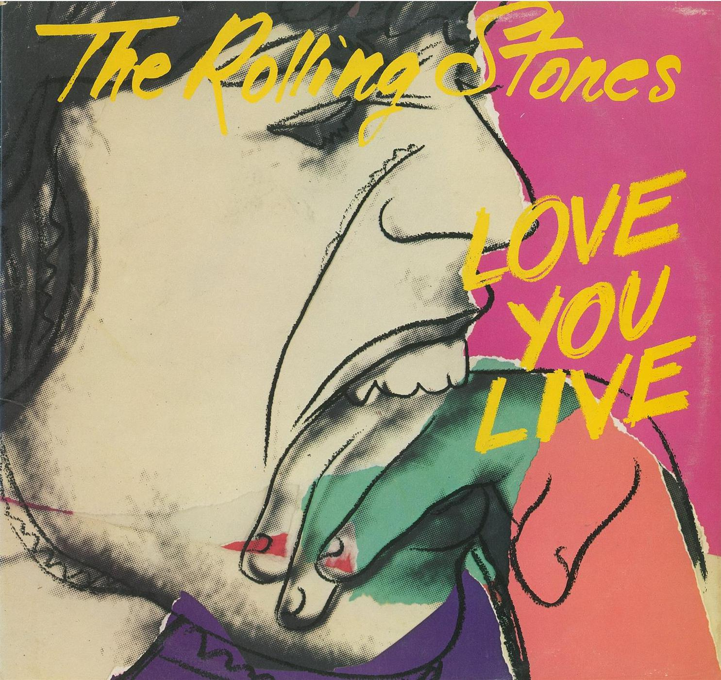 Andy Warhol-The Rolling Stones (Love You Live)-1977