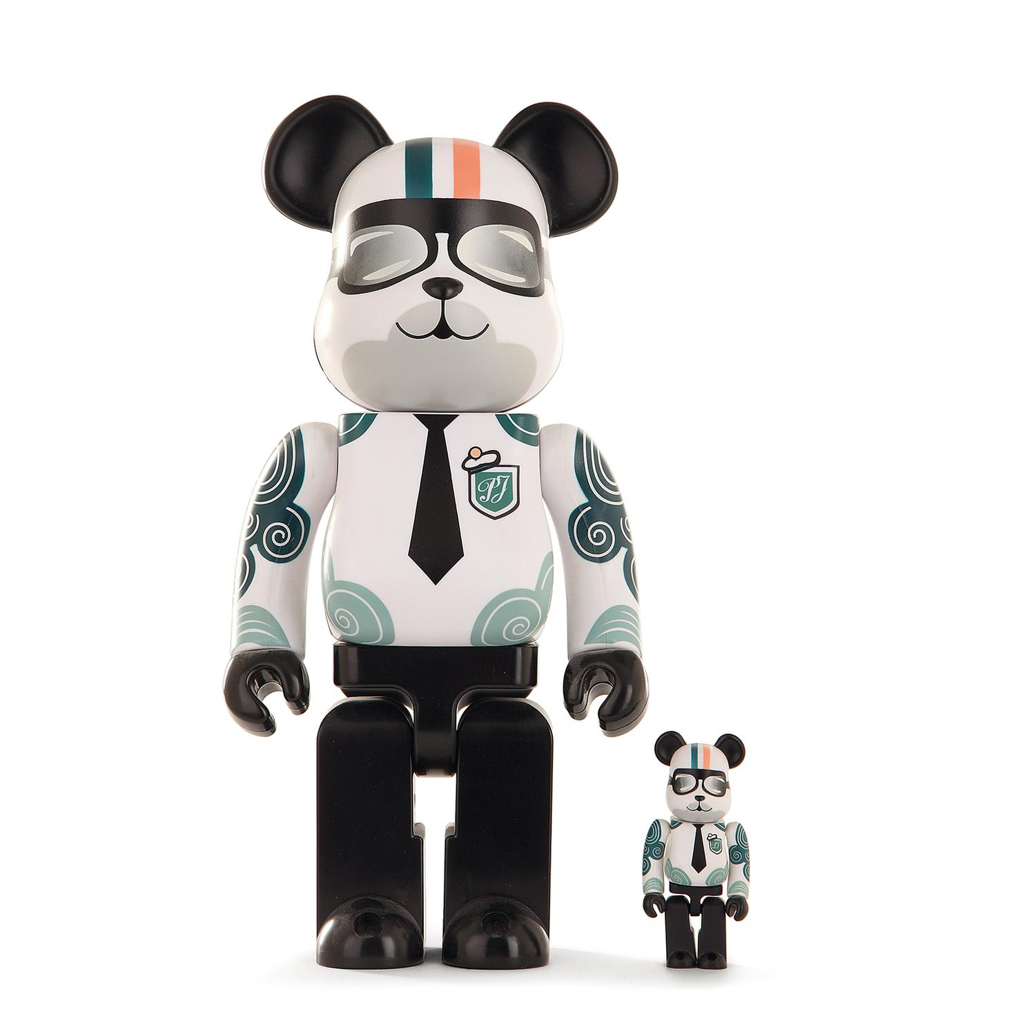Be@Rbrick 400% & 100% - Be@Rbrick Paul & Joe-2010