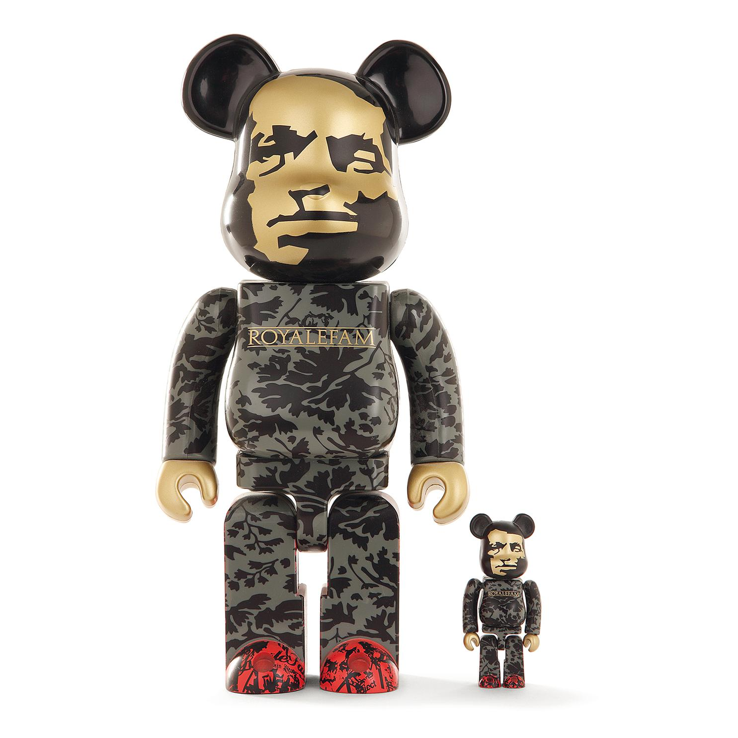 Be@Rbrick 400% & 100% - Be@Rbrick Sbtg Royalefam-2008