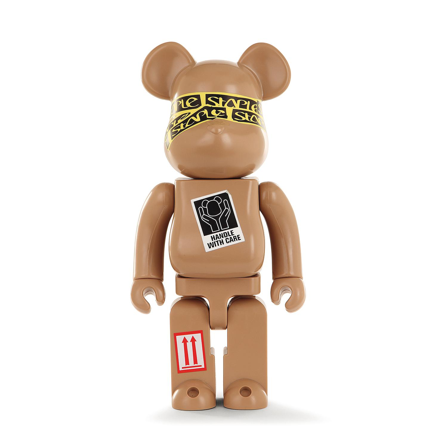 Be@Rbrick 400% - Be@Rbrick Staple Stpl Par Jeff Staple-2010