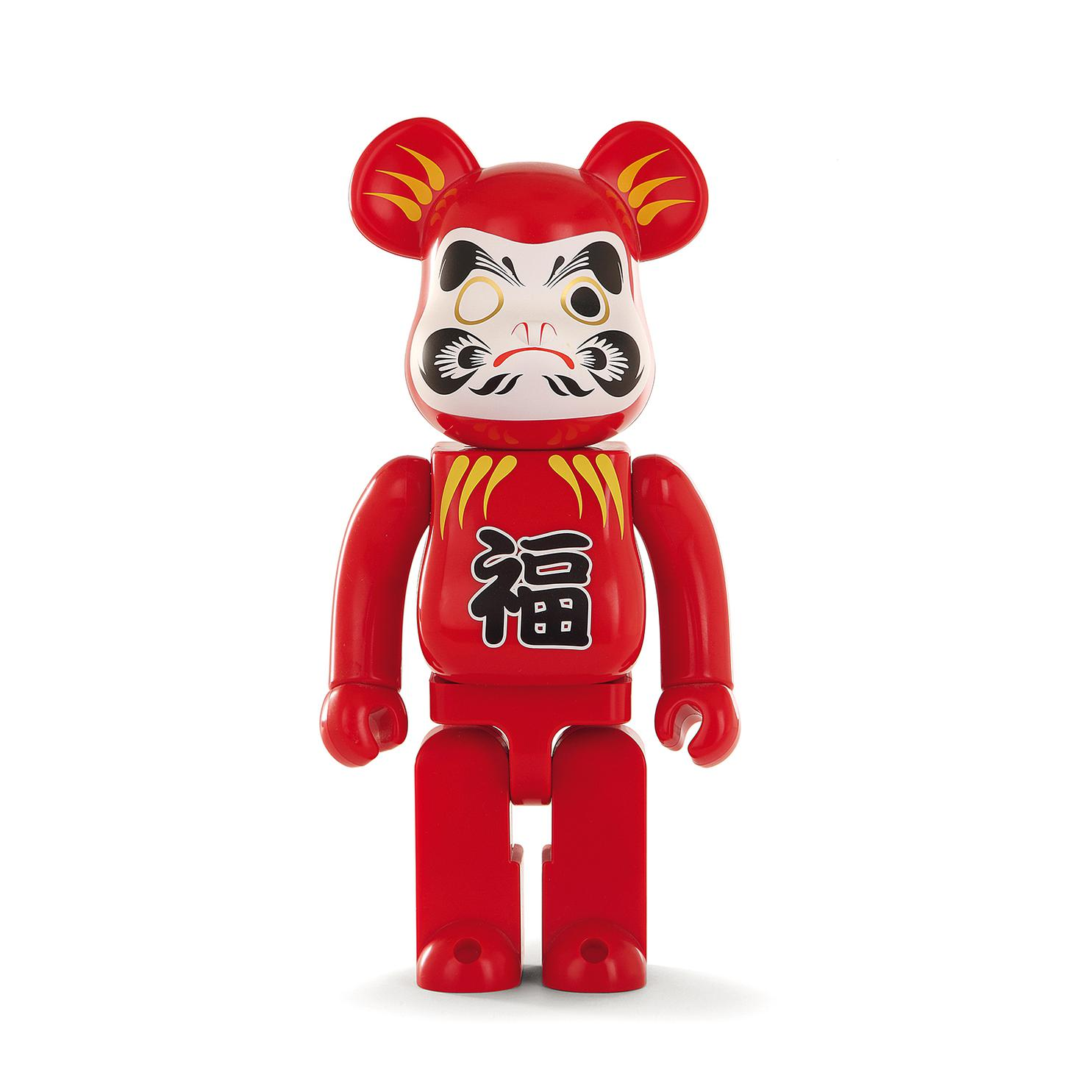 Be@Rbrick 400% - Be@Rbrick Skytree Metallic Red Daruma-2011