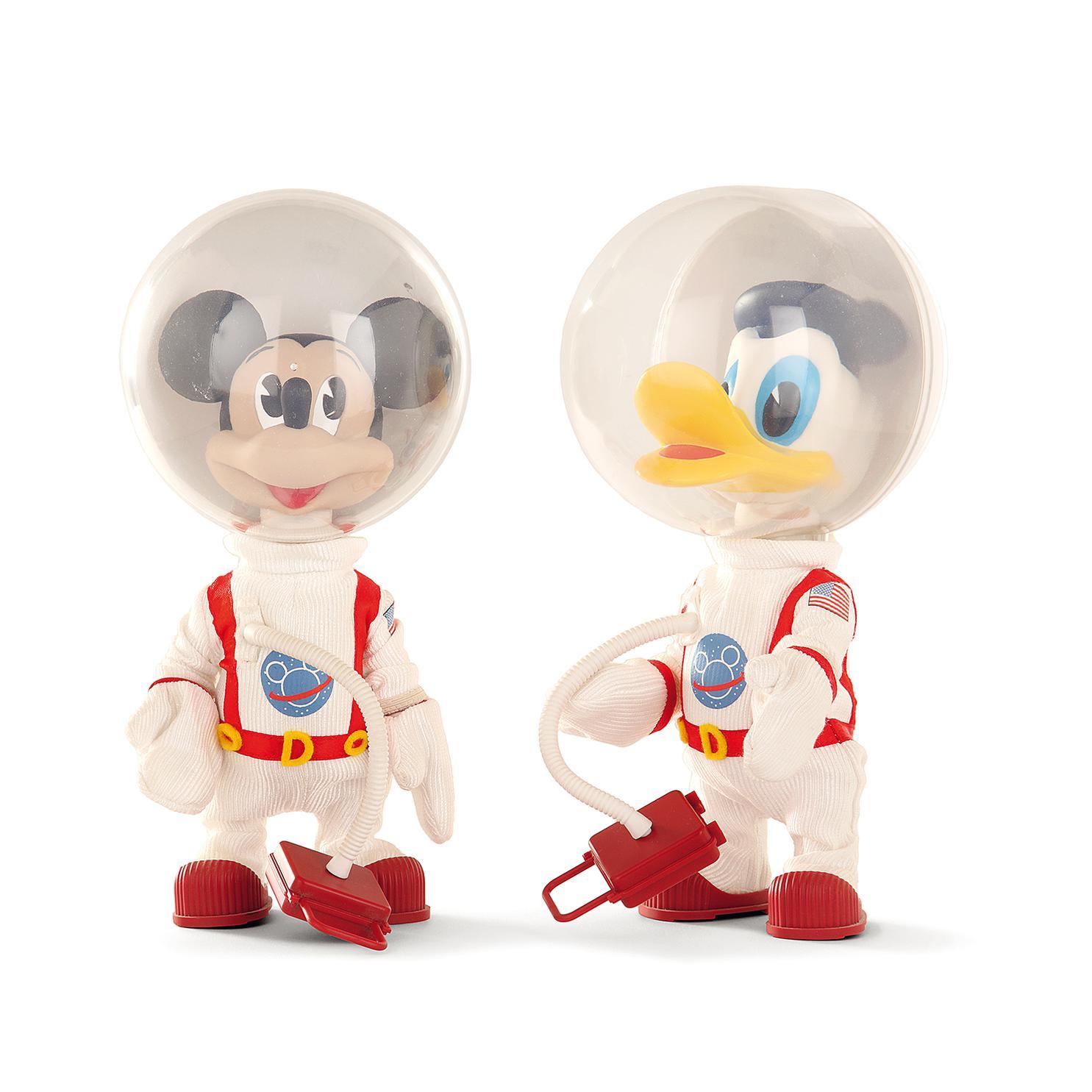 Vinyl Collectible Dolls Disney - Mickey Mouse Et Donald Duckastronautes-