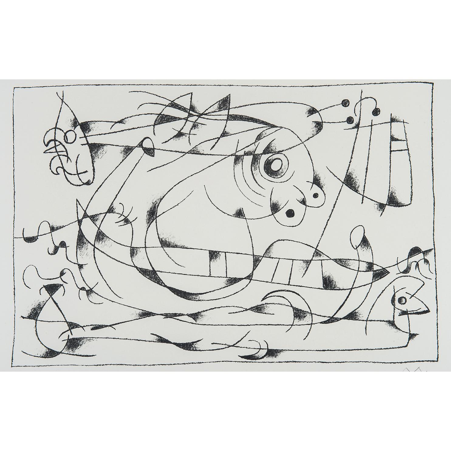 Joan Miro-Suites Pour Ubu Roi-1996