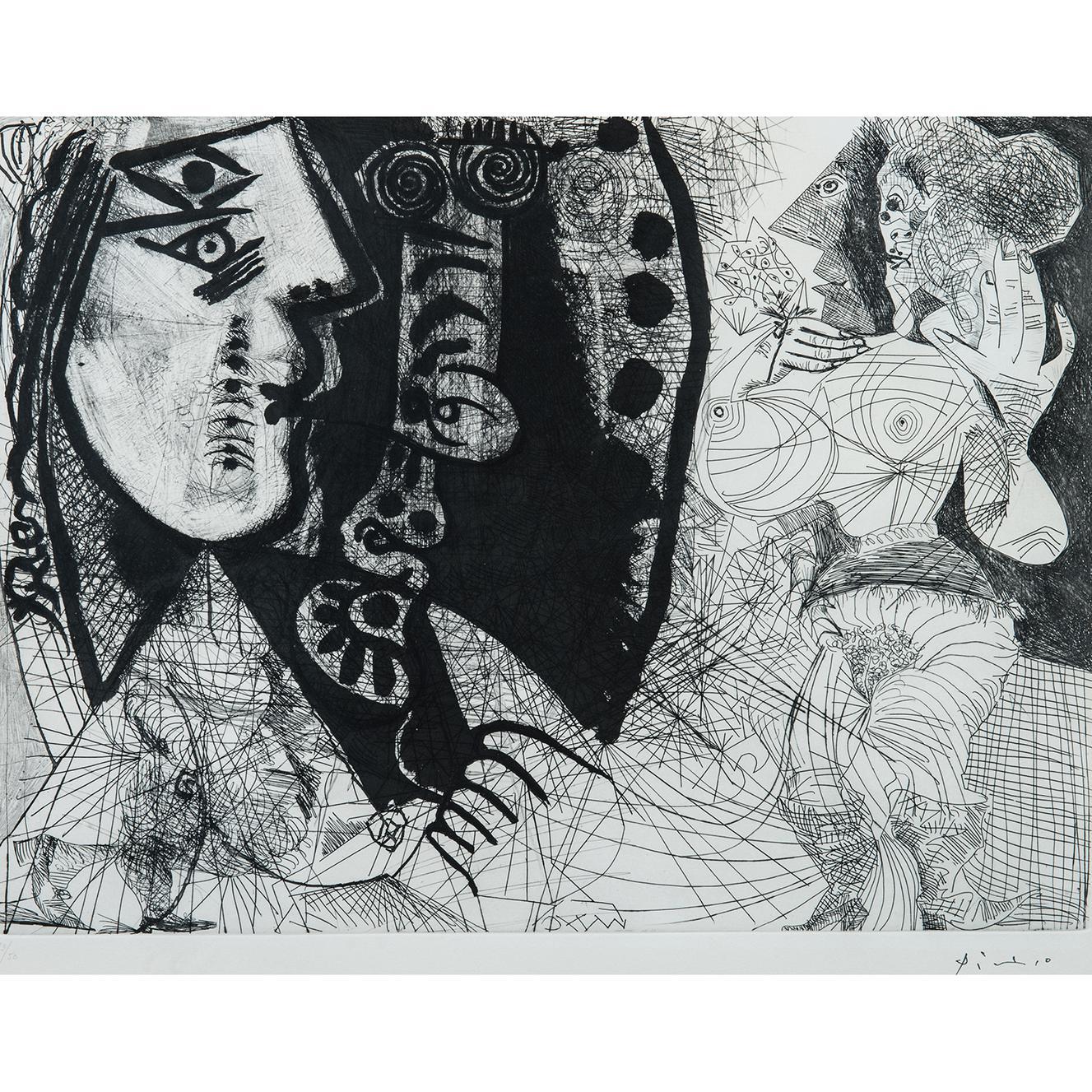 Pablo Picasso-1Er, 5 Mars 1972-
