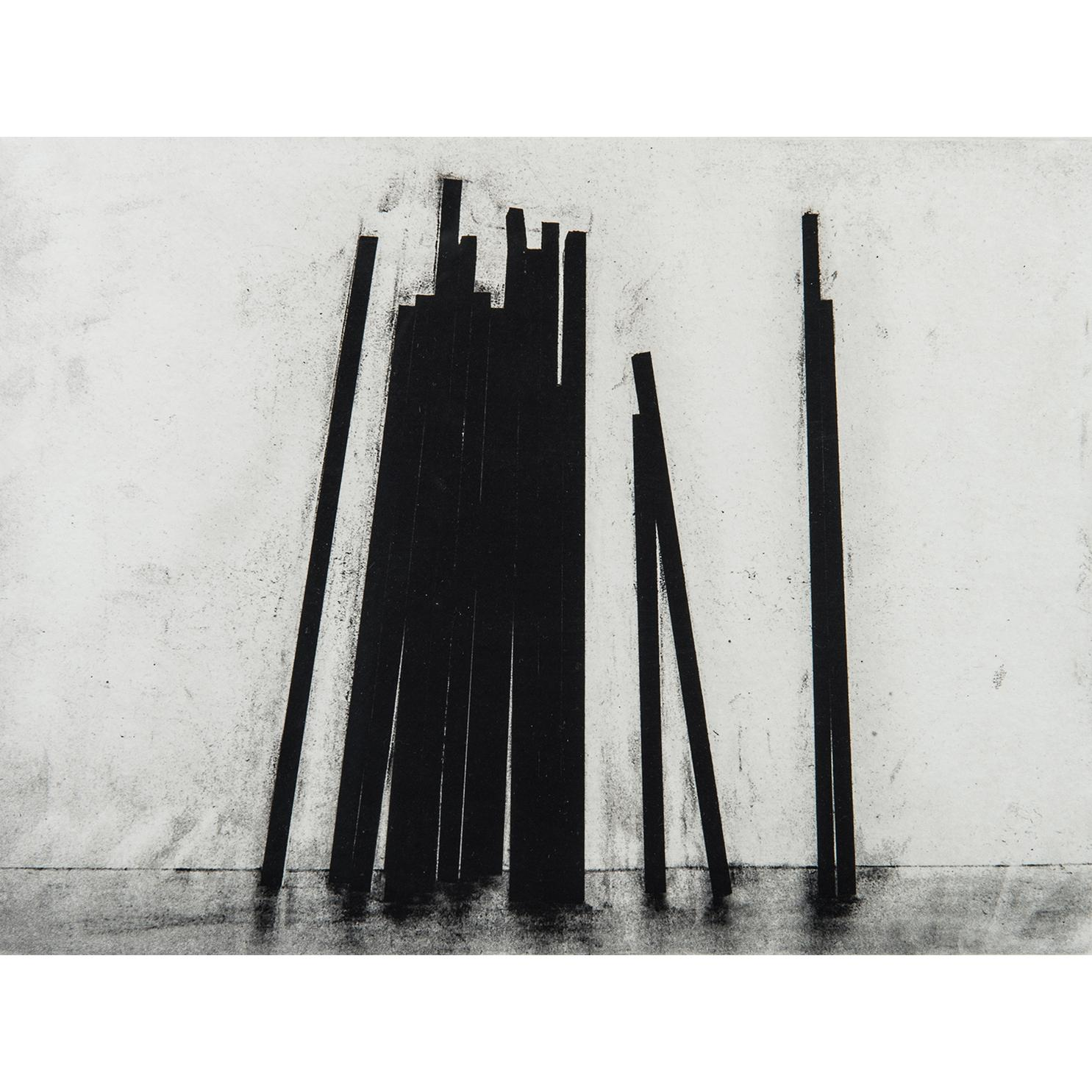 Bernar Venet-Leaning Straight Lines-