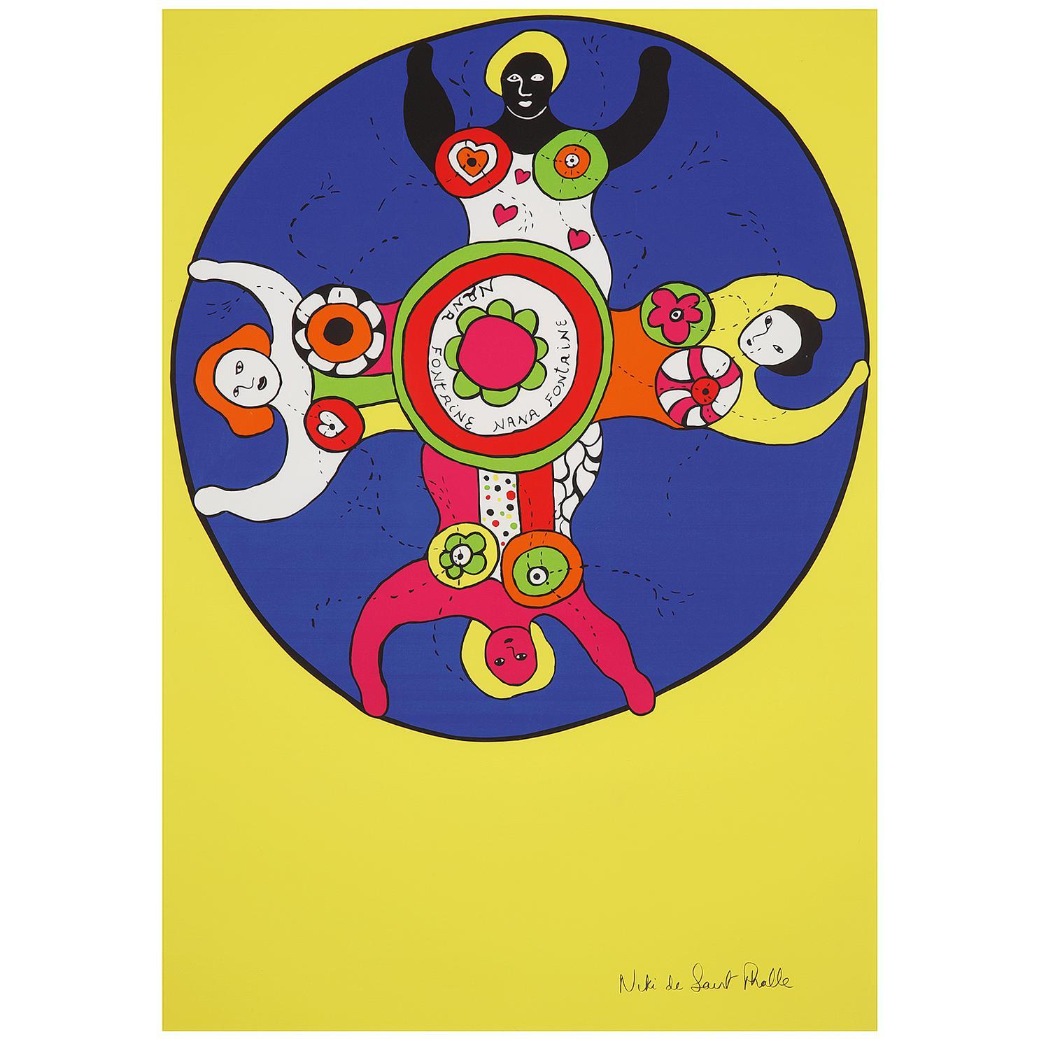 Niki de Saint Phalle-Nana Fontaine-1989