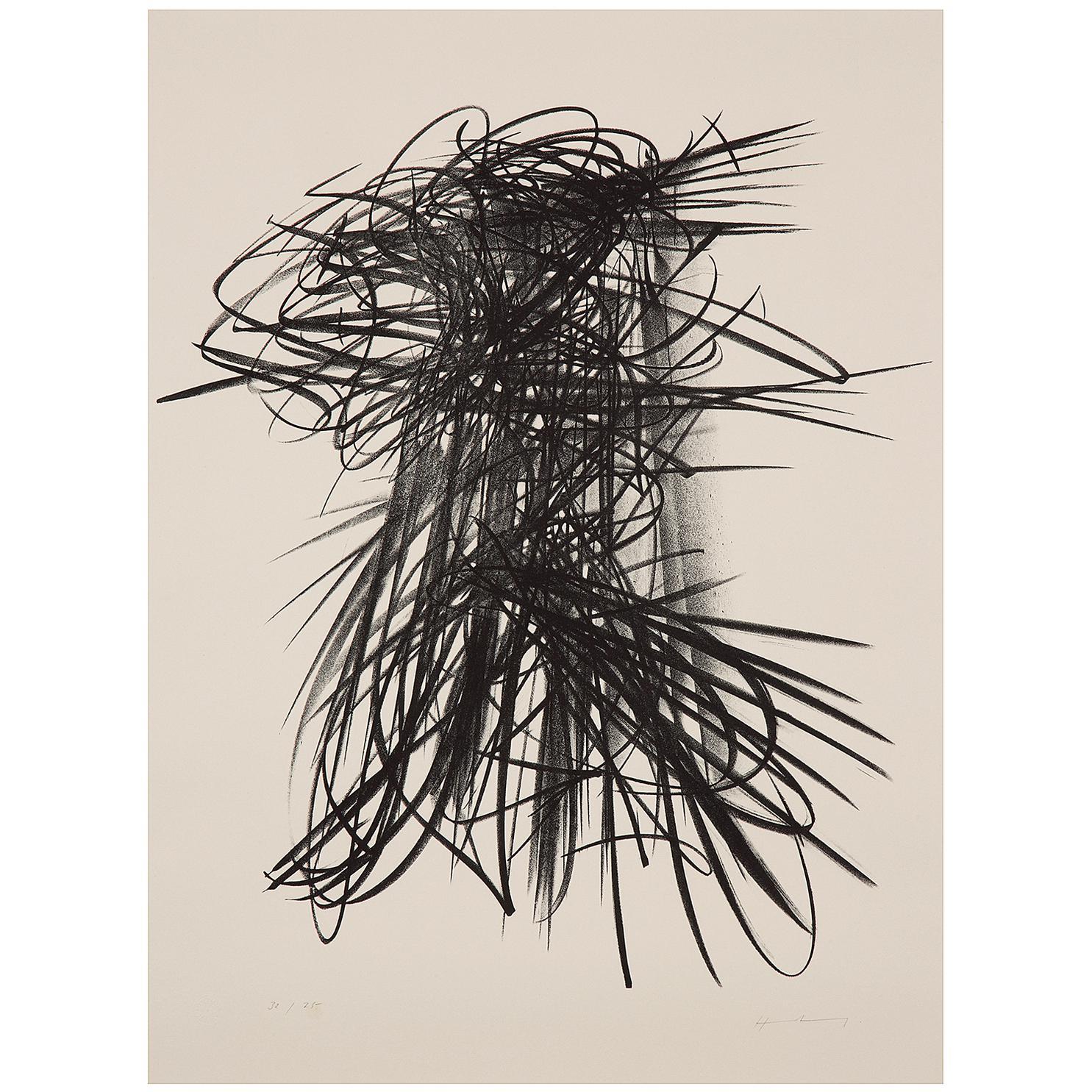 Hans Hartung-Lithographie No.93-1963