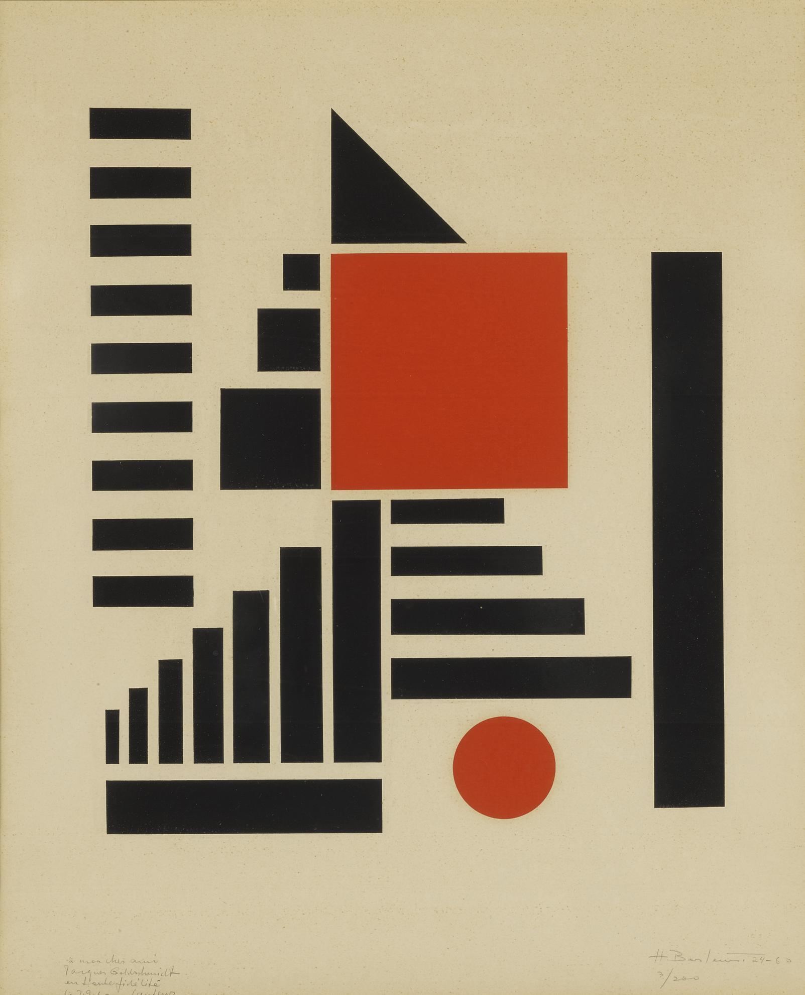 Henryk Berlewi - Mechano-Faktura-1960