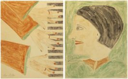 Lee Godie - Three Hands On A Piano / Ellyn In Profile