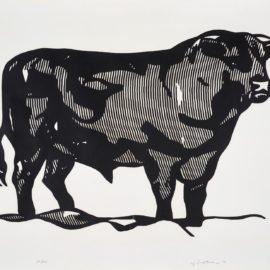 Roy Lichtenstein-Bull I-1973