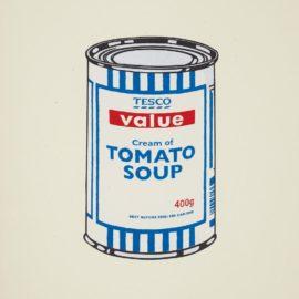 Banksy-Soup Can (Original)-2005