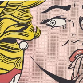 Roy Lichtenstein-Crying Girl-1963