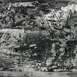 Gerhard Richter-Abstraktes Foto-1989