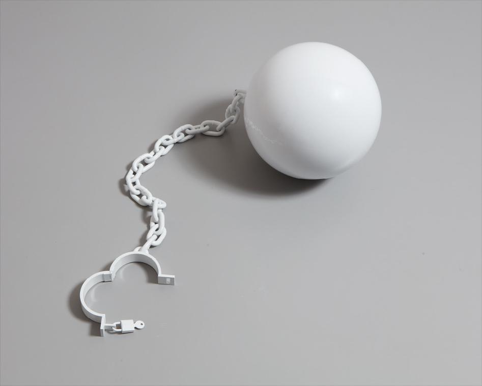 Elmgreen & Dragset-Ball And Chain-2004