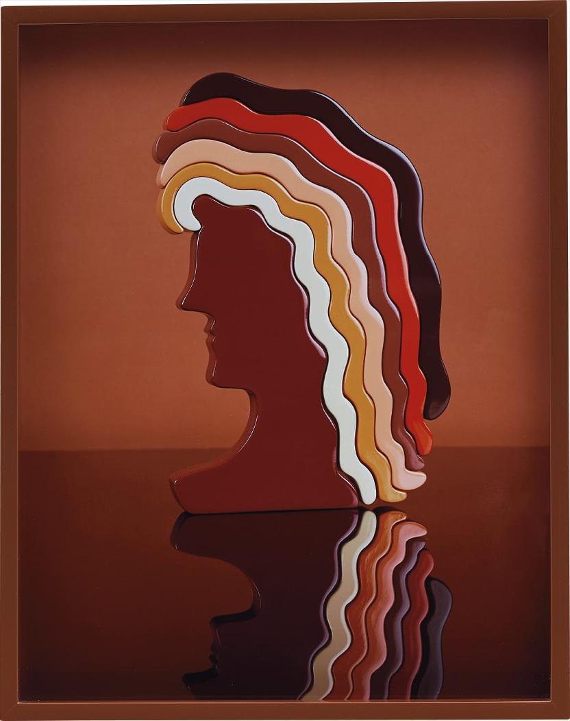 Elad Lassry-Woman 2 (Puzzle)-2010