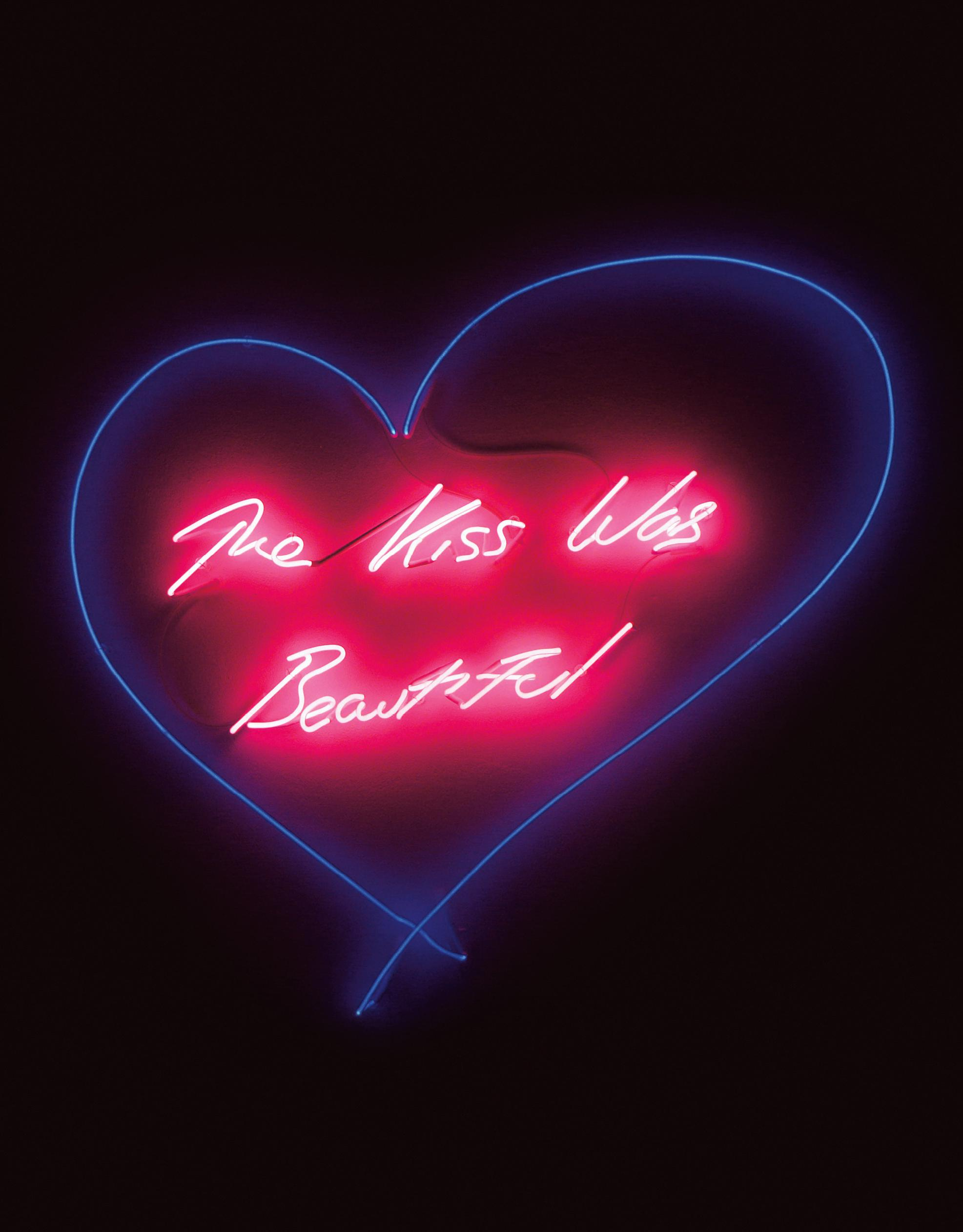 Tracey Emin-The Kiss Was Beautiful-2012