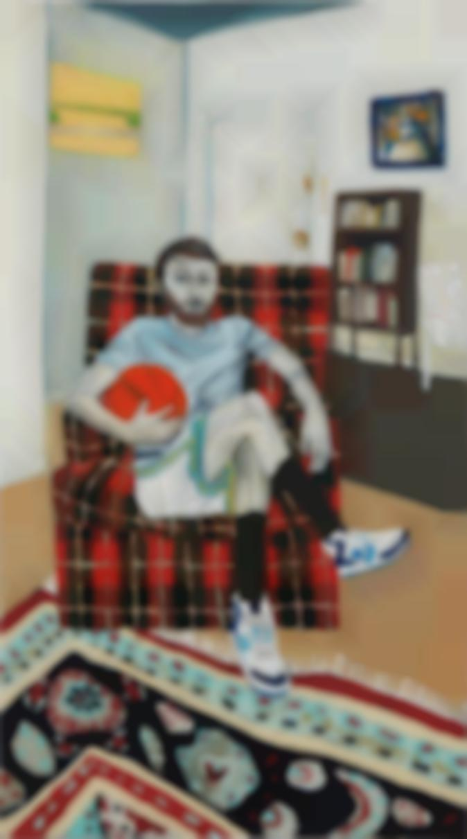 Raffi Kalenderian-Self Portrait (Hoop It Up)-2006