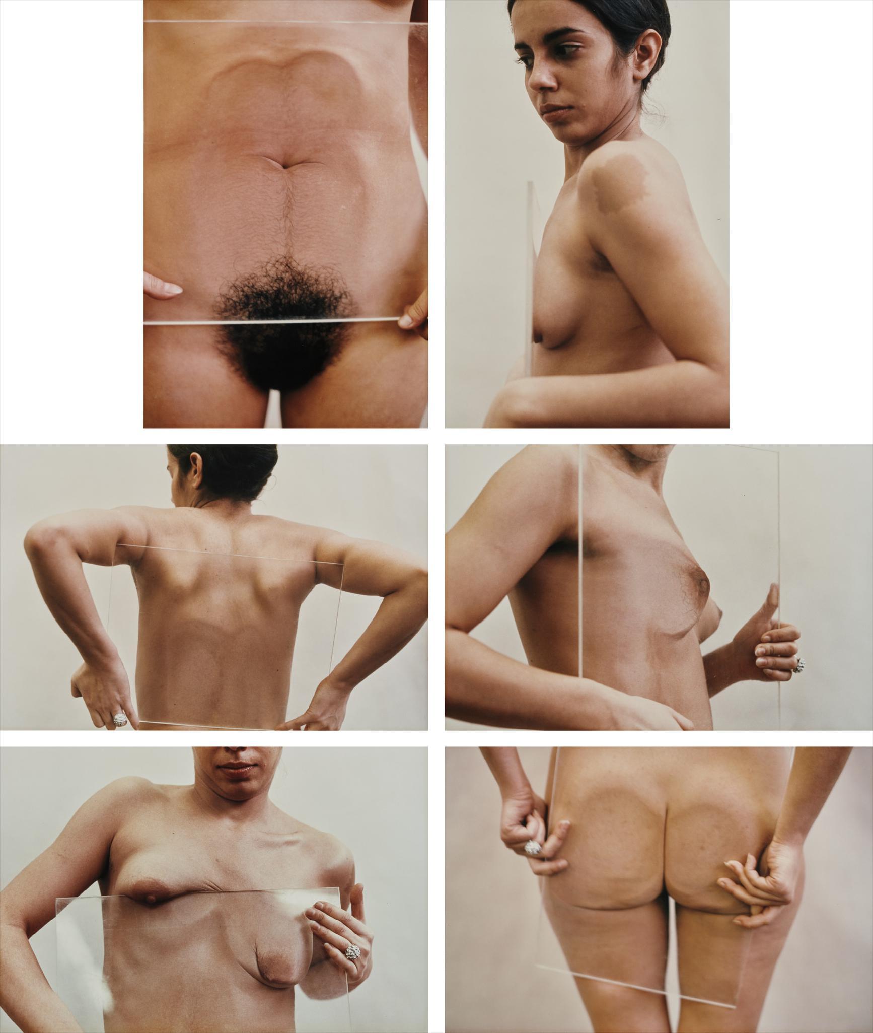 Ana Mendieta-Untitled (Glass On Body Imprints)-1972