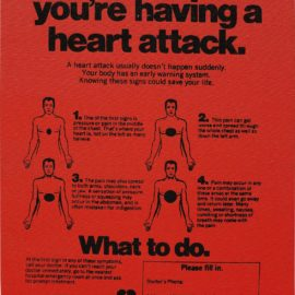 Andy Warhol-Valentine'S Hearts Ads ( ... Having A Heart Attack)-1983