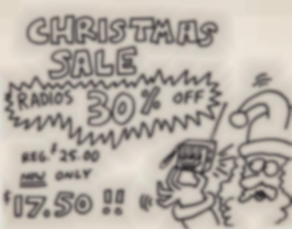 Keith Haring-Pop Shop Signage (Christmas Sale)-1988