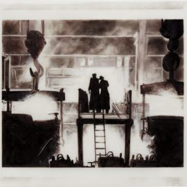 Robert Longo-Untitled (Factory)-1996