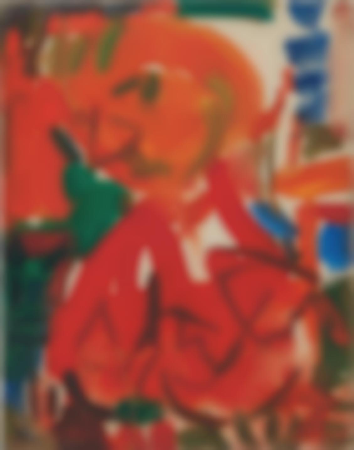 Hans Hofmann-The Artist 7-1946