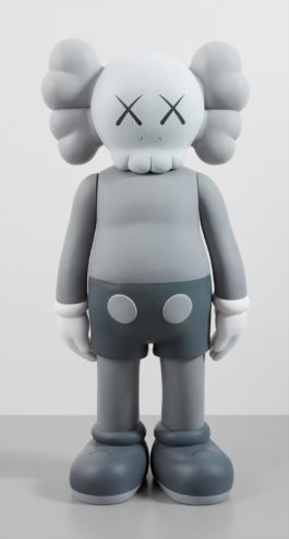 KAWS-Four Foot Companion (Grey)-2007