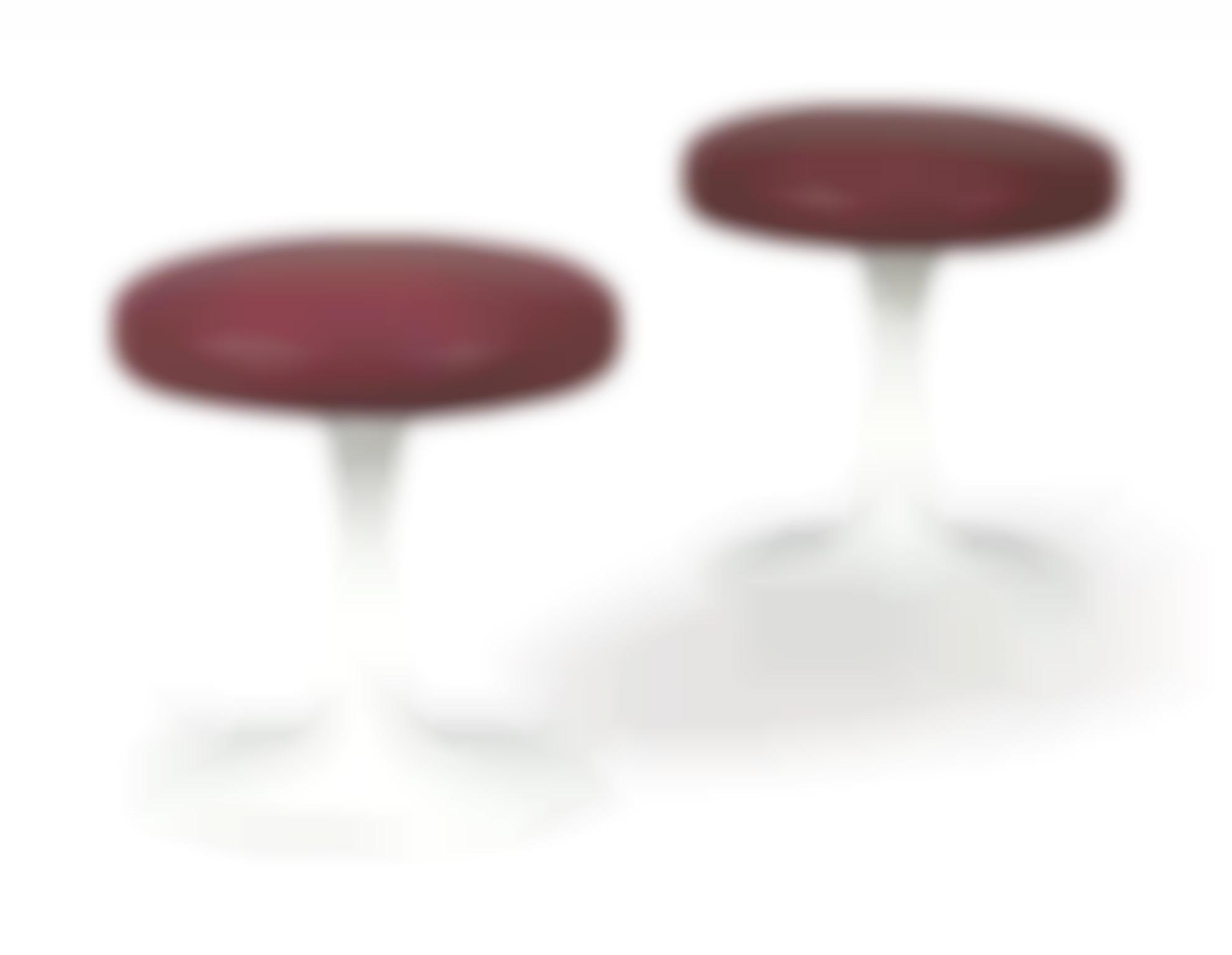 Eero Saarinen - Two Tulip Stools-1956