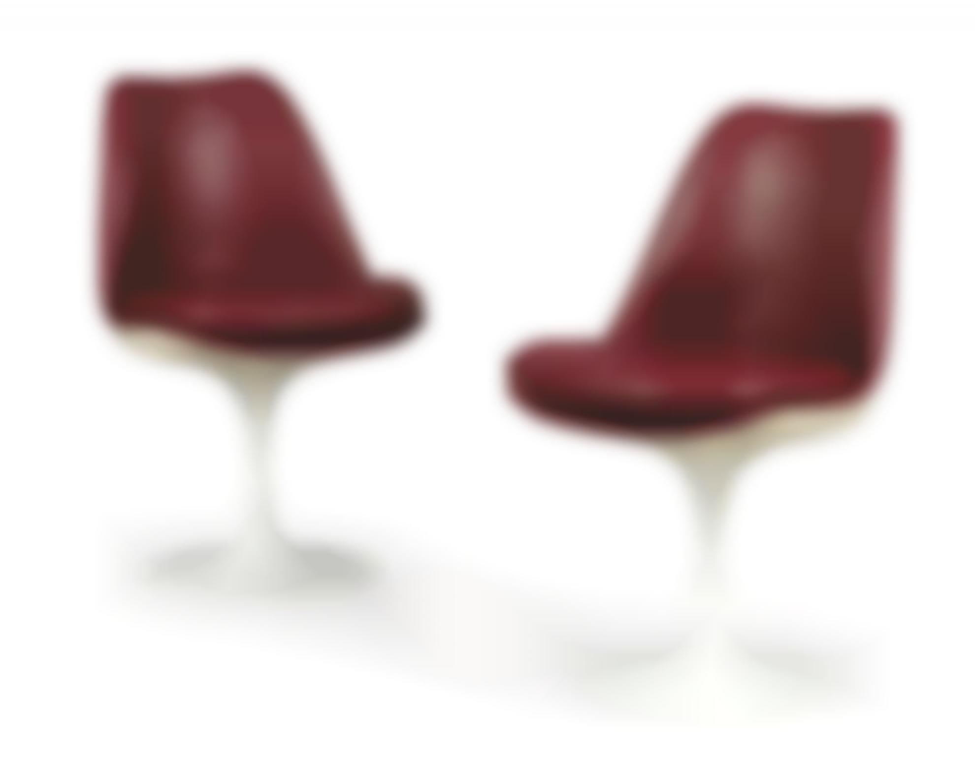 Eero Saarinen - Two Tulip Chairs, Designed In 1956-1956