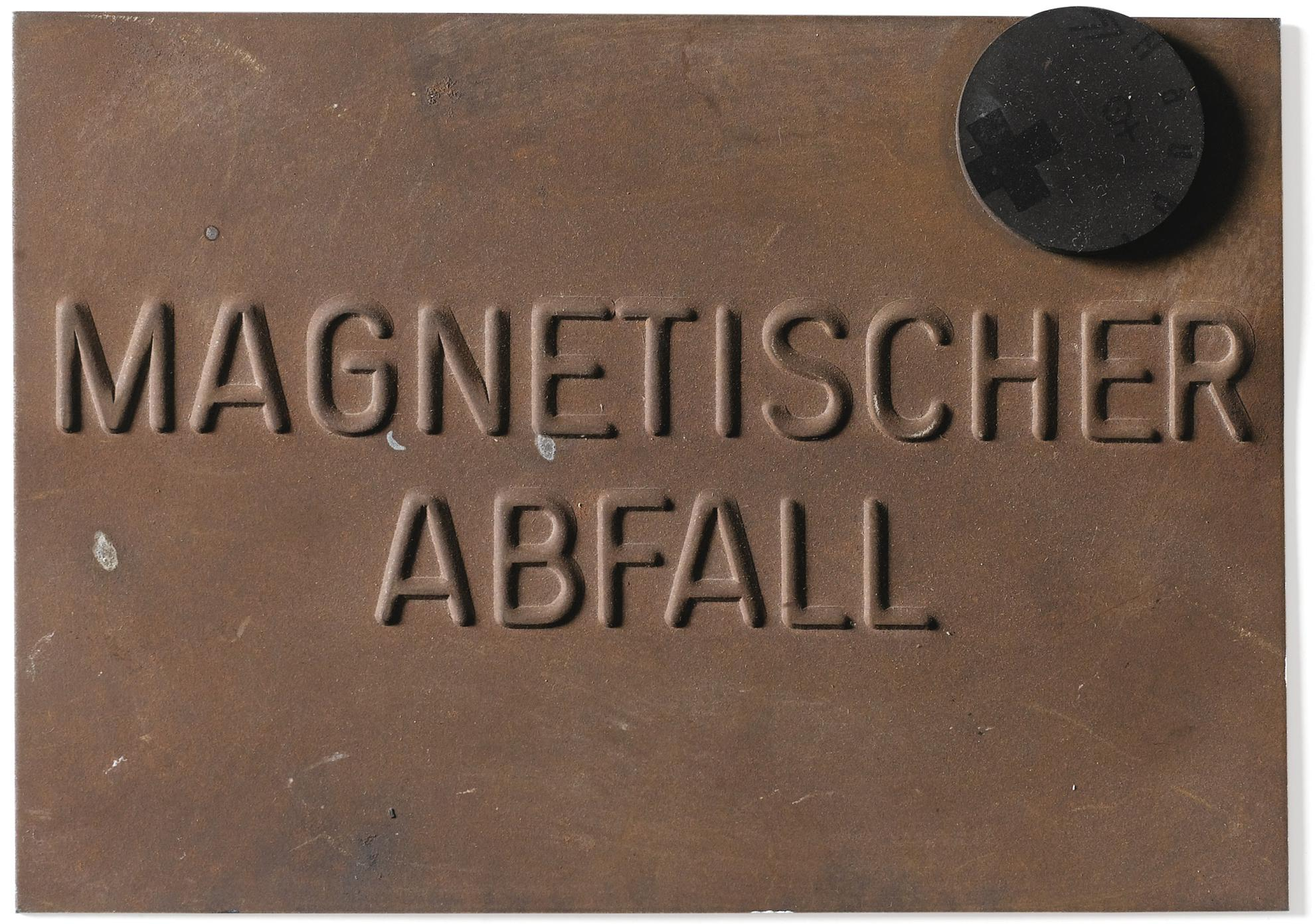 Joseph Beuys-Magnetic Postcard-1975