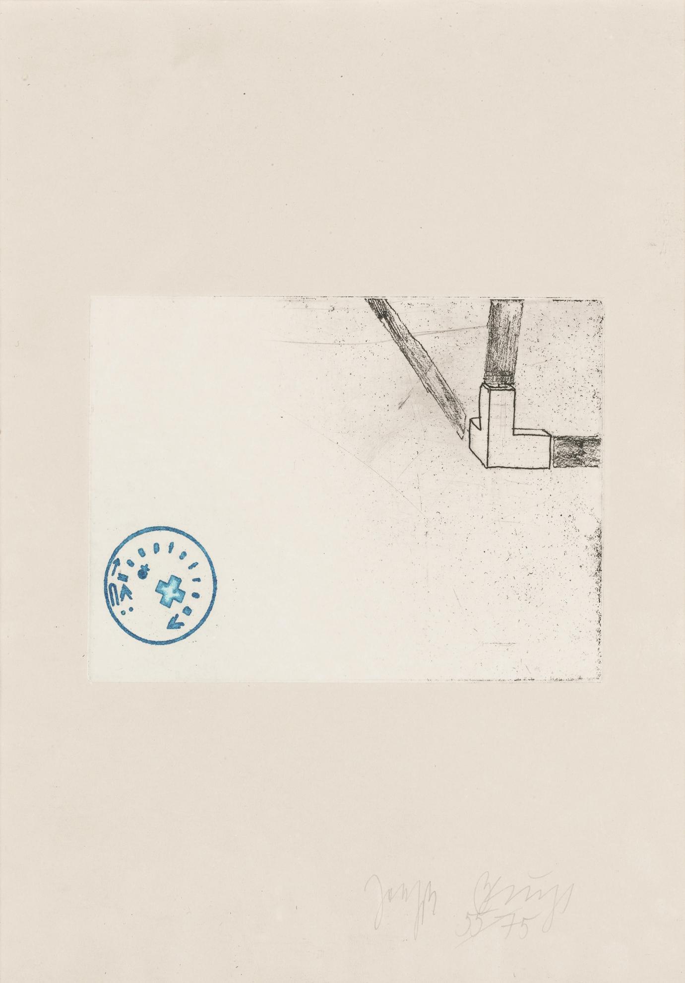 Joseph Beuys-Room Corner, Felt, Fat-1982
