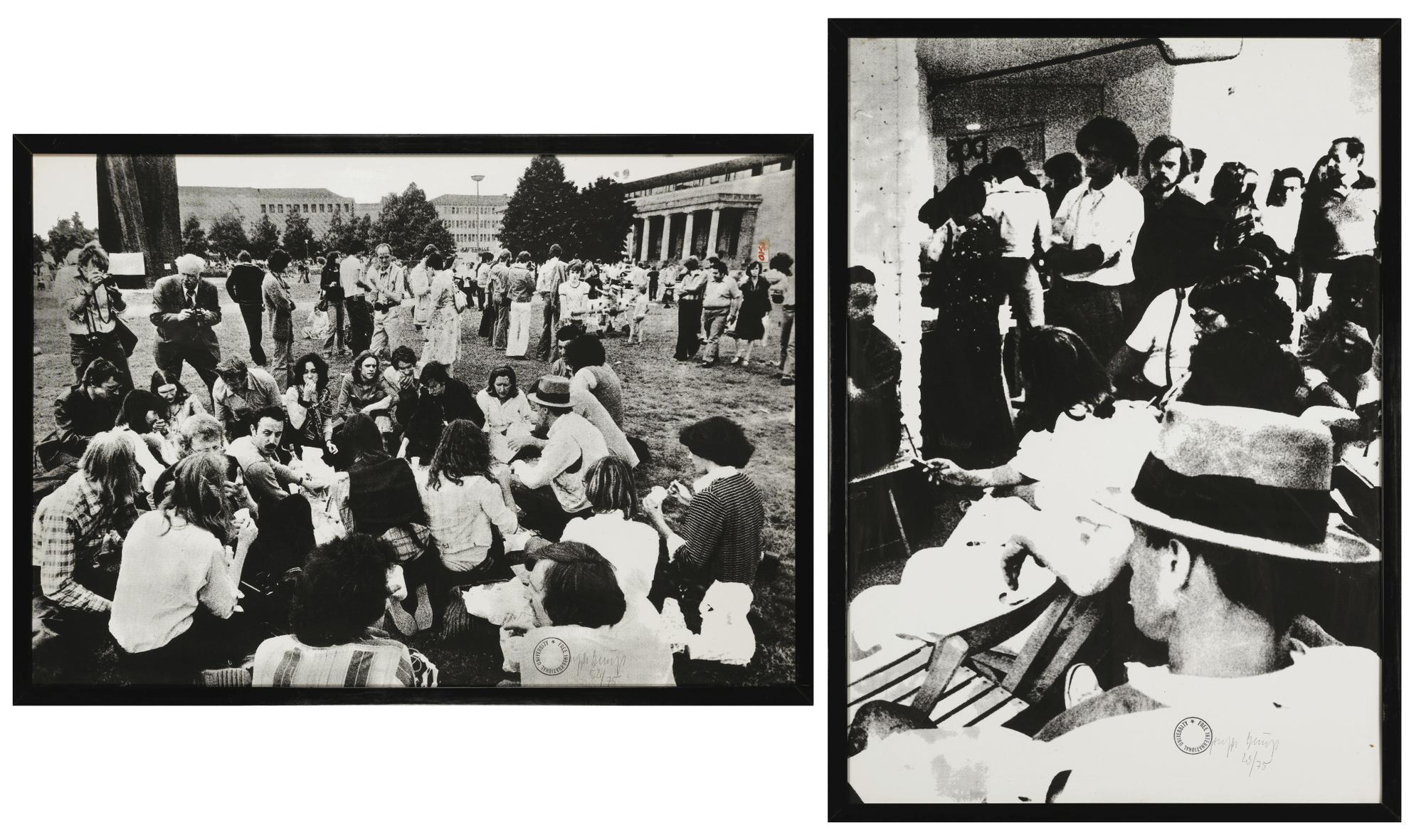 Joseph Beuys-Fondazione Per La Rinascita Dellagricoltura (Diptyque)-1978