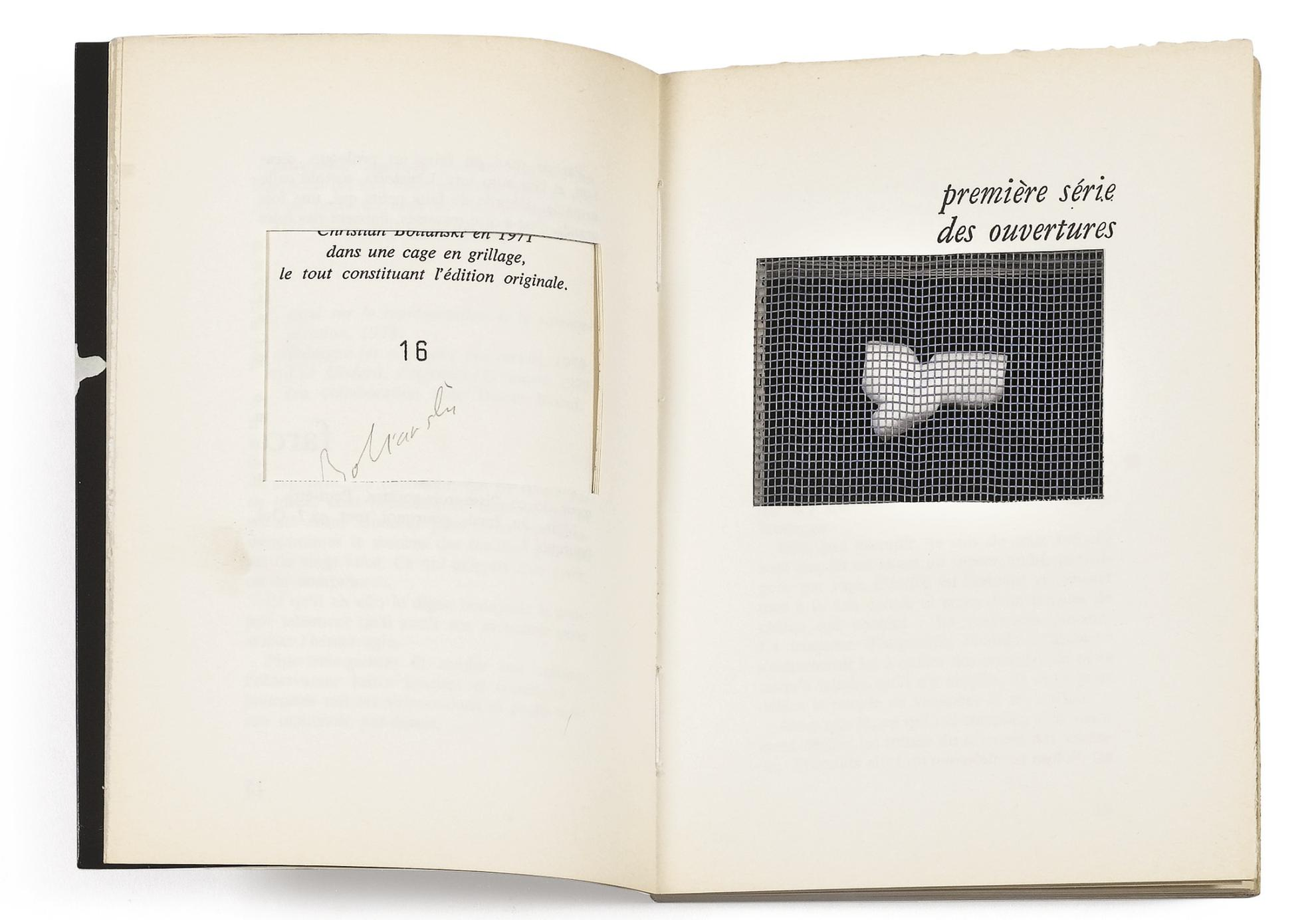 Christian Boltanski Et Jean-Marie Touratier - Farce. Paris, Galilee-1979