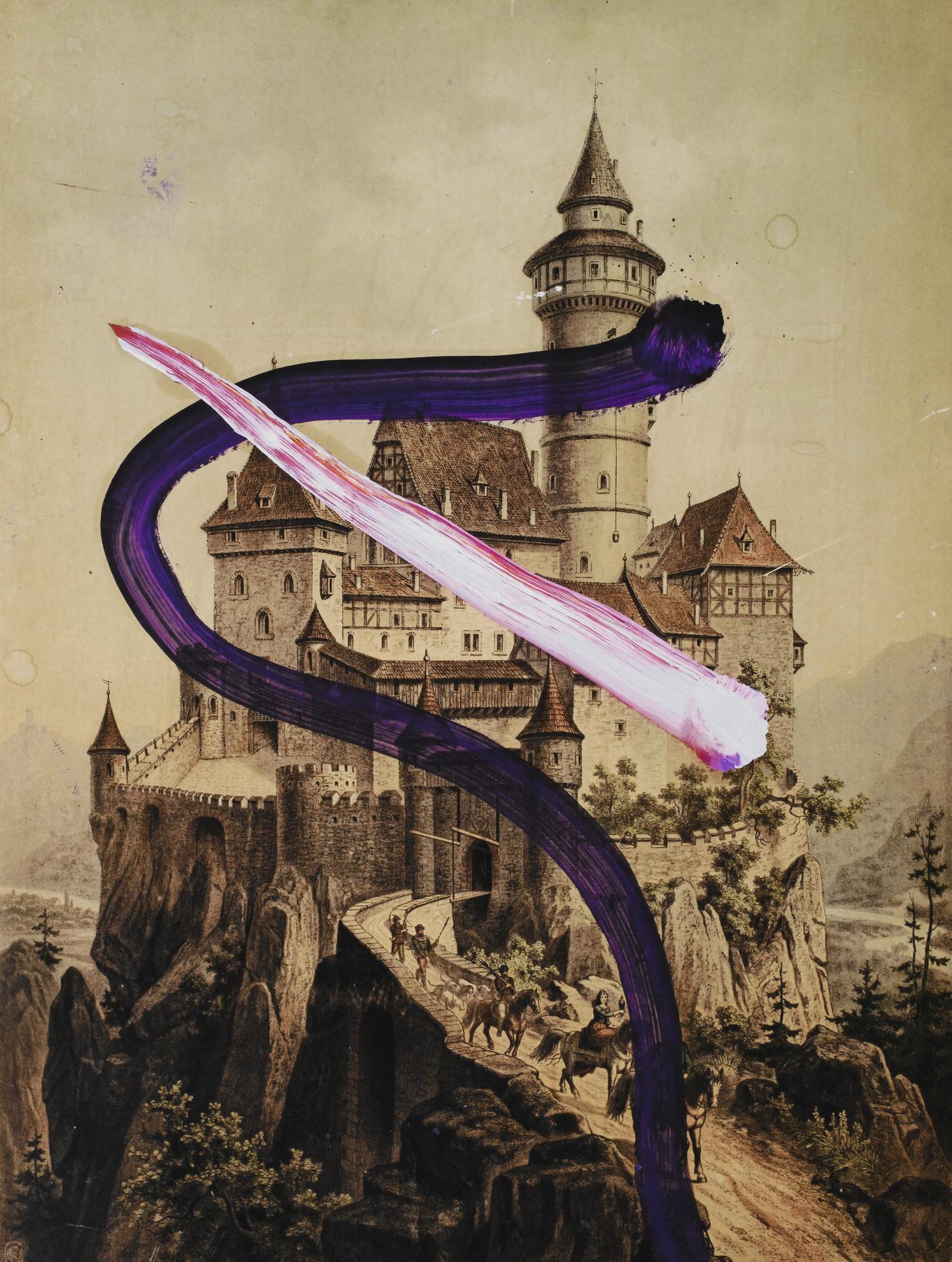 Julian Schnabel-Untitled #V-