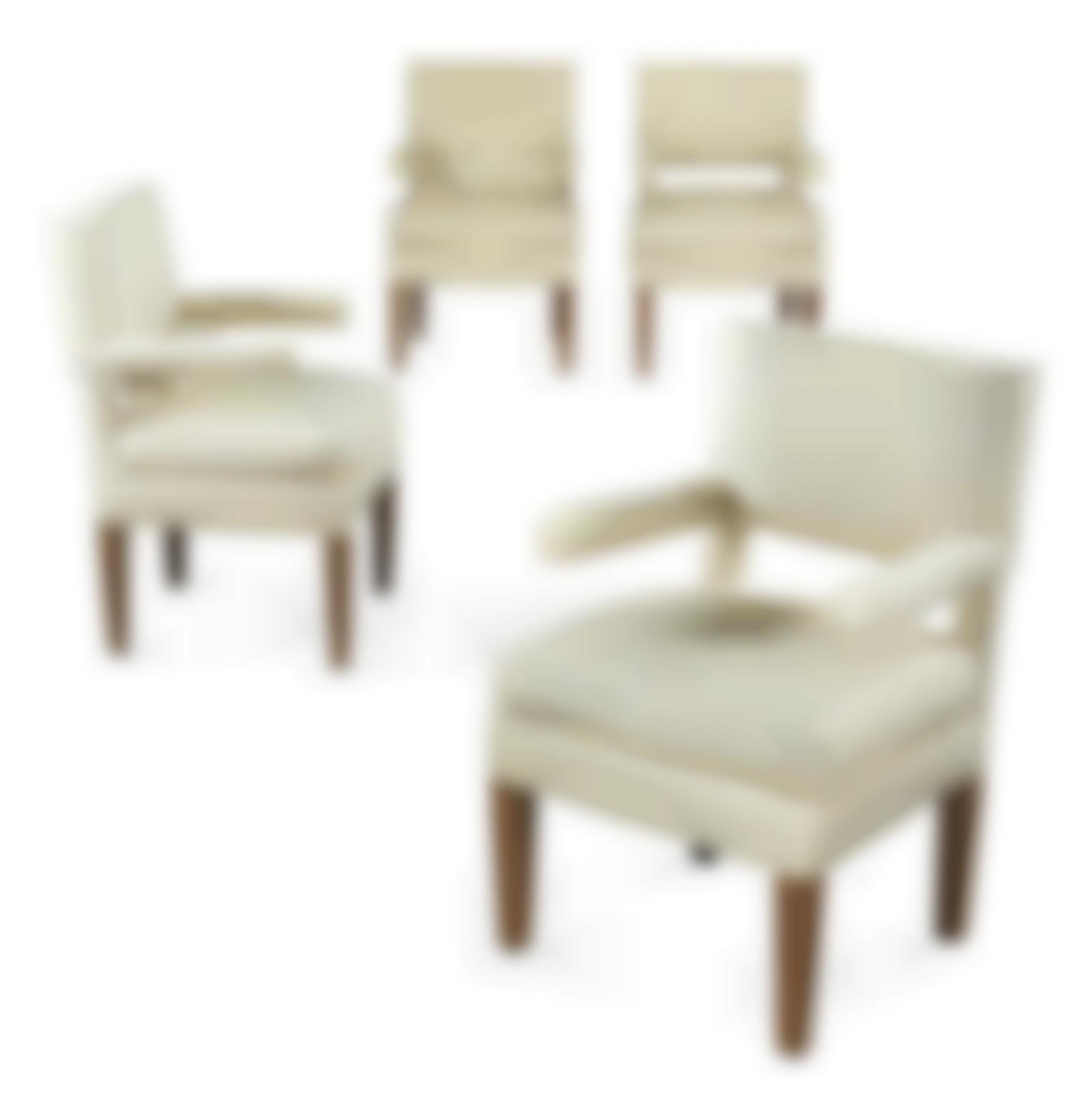 French - Four Armchairs-