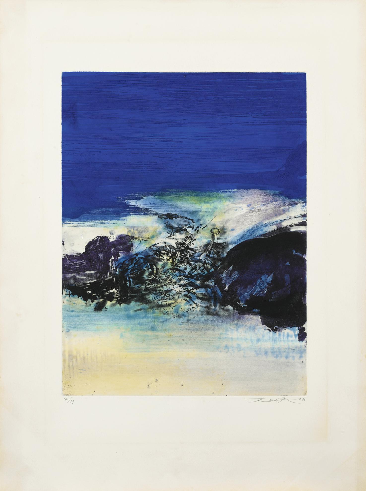 Zao Wou-Ki-Untitled-1981