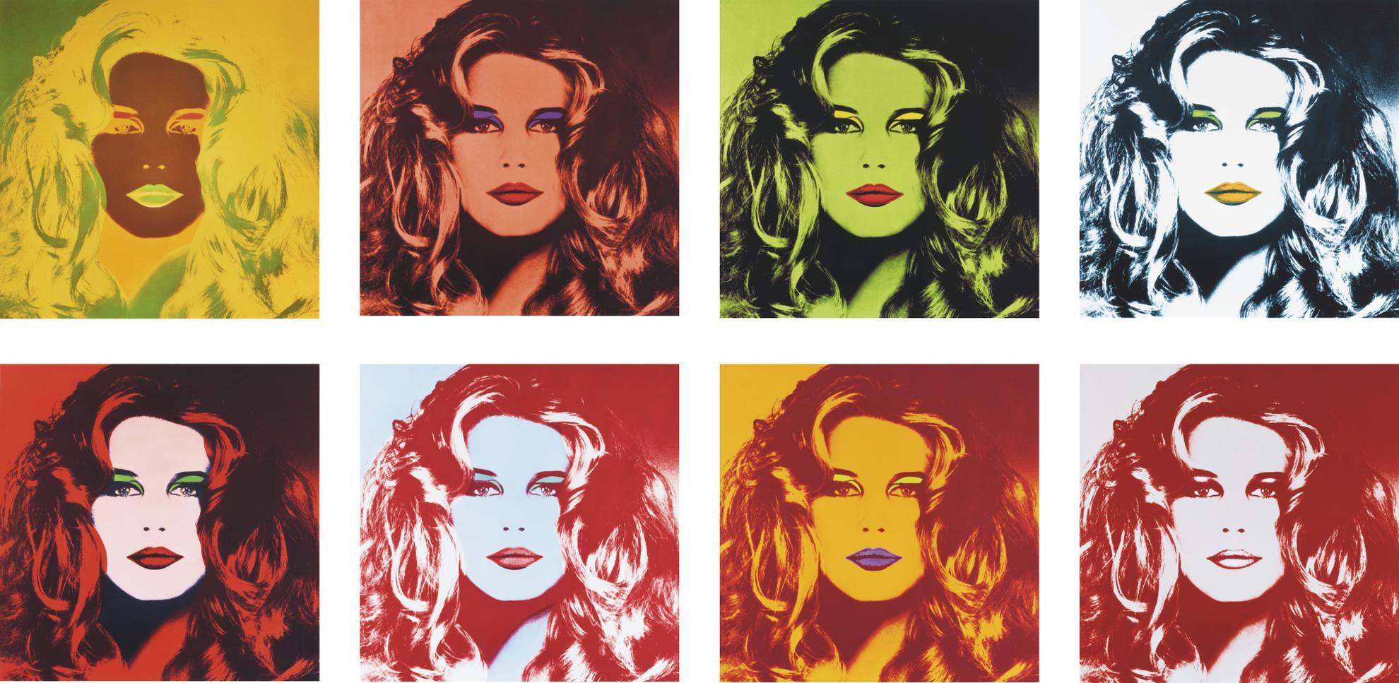Gunter Sachs - Hommage A Warhol-1991