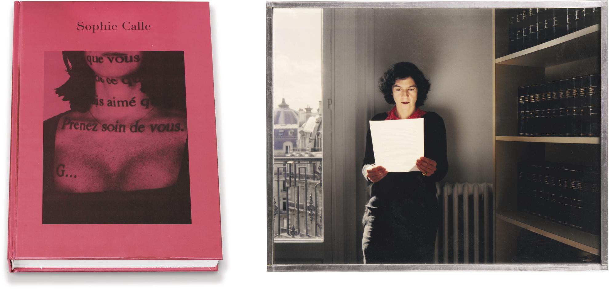 Sophie Calle-Prenez Soin De Vous, 2007-