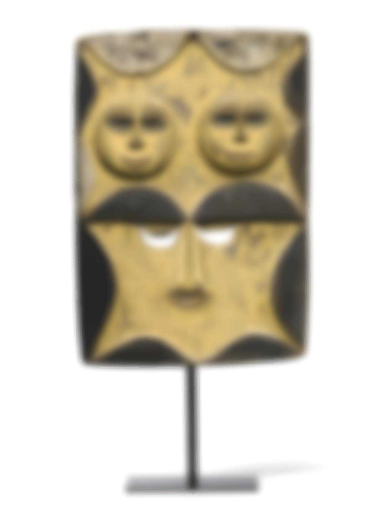 Eket Plank Mask Nigeria-