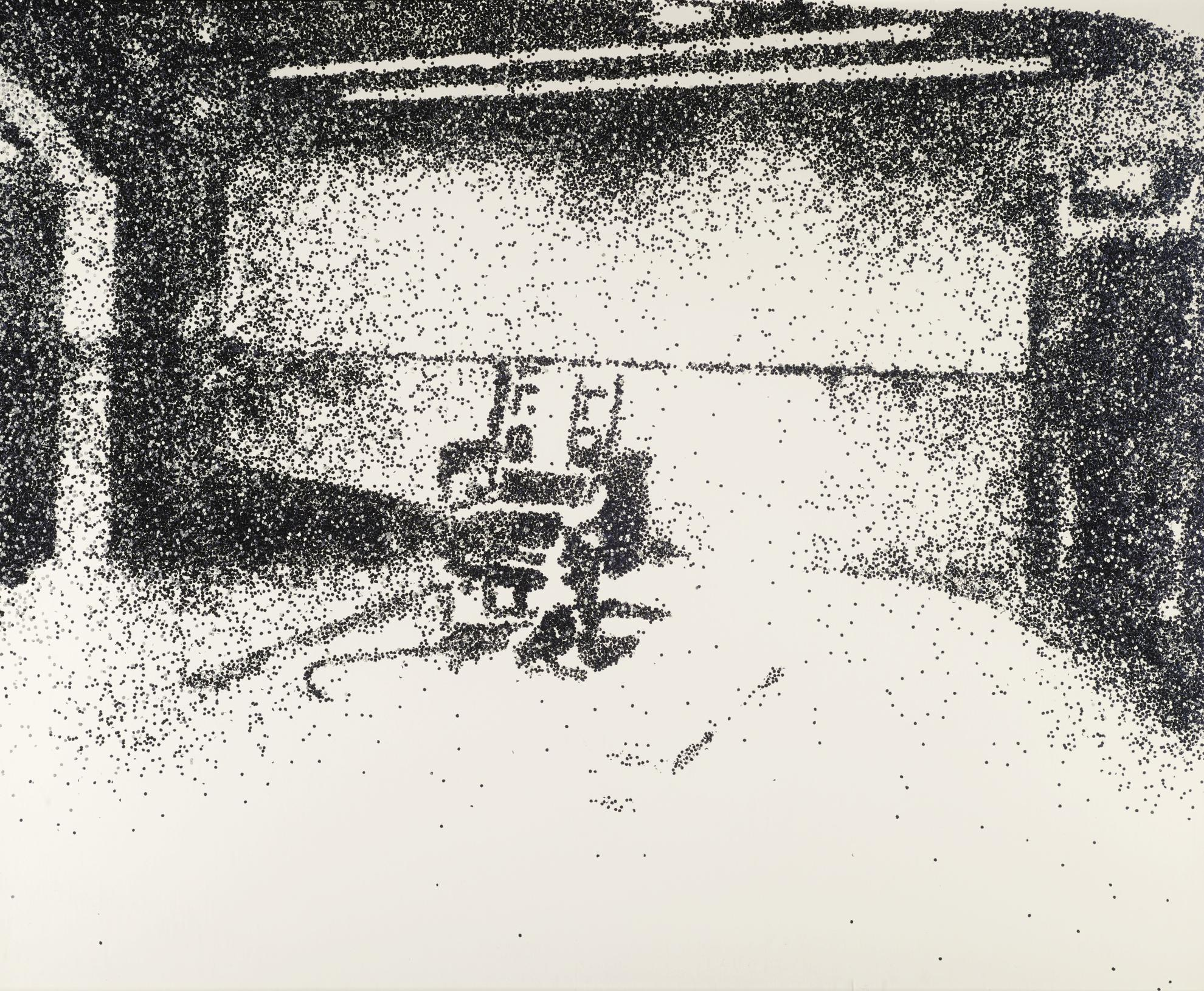 Vik Muniz-Electric Chair (Pictures Of Glitter Series)-2001