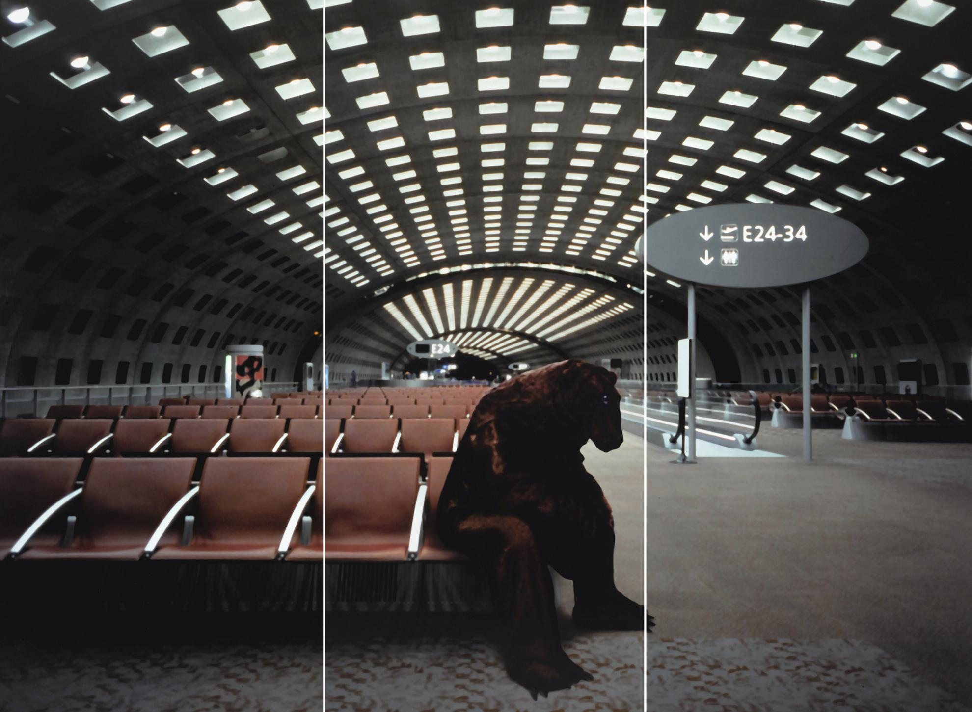 Xavier Veilhan-Terminal E-2004