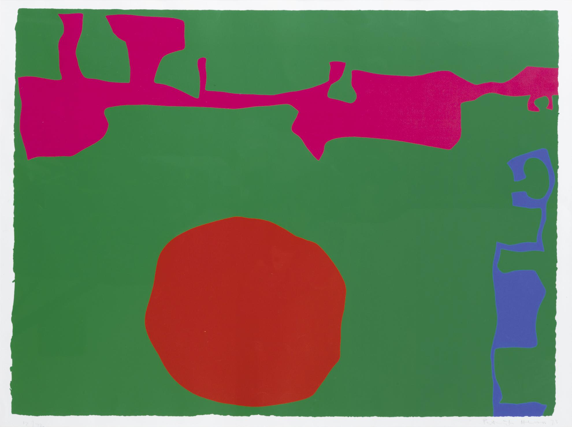 Patrick Heron-Plate 11 (From January 1973)-1973