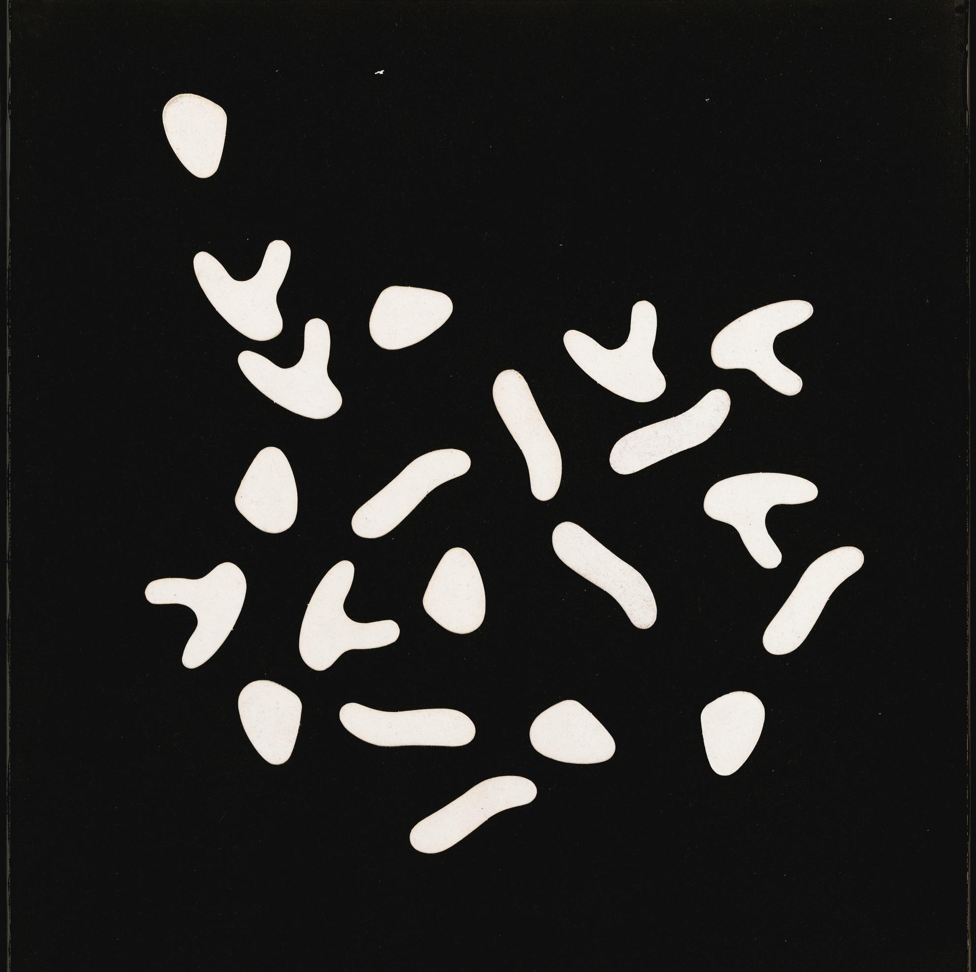 Jean Arp-Variables Bild (3 X 7 = 21 Formen)-1964